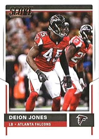info for bcf33 449ef Amazon.com: 2017 Score #53 Deion Jones Atlanta Falcons ...