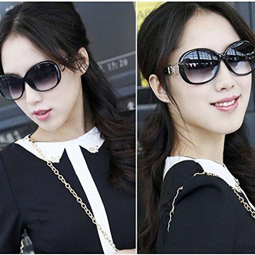 Mujer 141mm Width Negro Morado Retro Frame Lamdoo de Hot Clásico Sol Gafas para Diseño PY4qZ4n7Fw