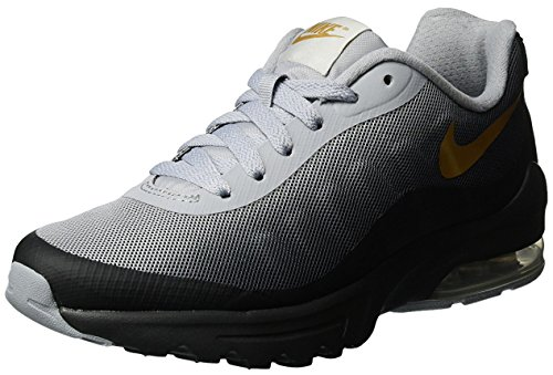 2c0b5ba1bf7e Galleon - Nike Womens Air Max Invigor Print Running Shoe Black Metallic  Gold 11