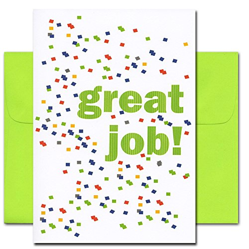 Congratulations Cards: Great Job! - box of 10 cards & envelopes