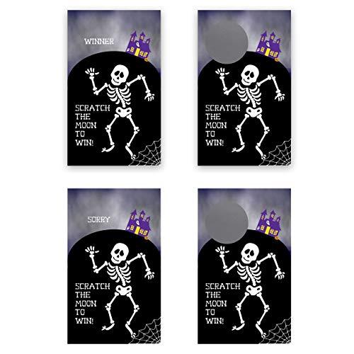 My Scratch Offs Halloween Spooky Skeleton Scratch Off Game Card - 25 Pack (Off Board)
