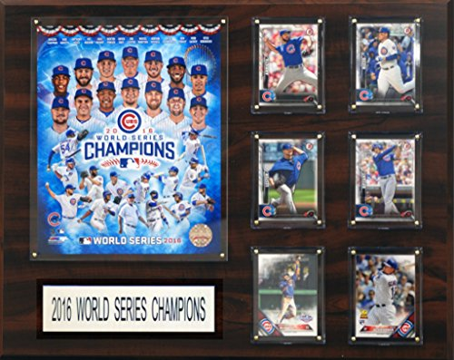 C&I Collectables MLB Chicago Cubs Men's Kansas City Royals 2015 World Series Champions, Brown, 16