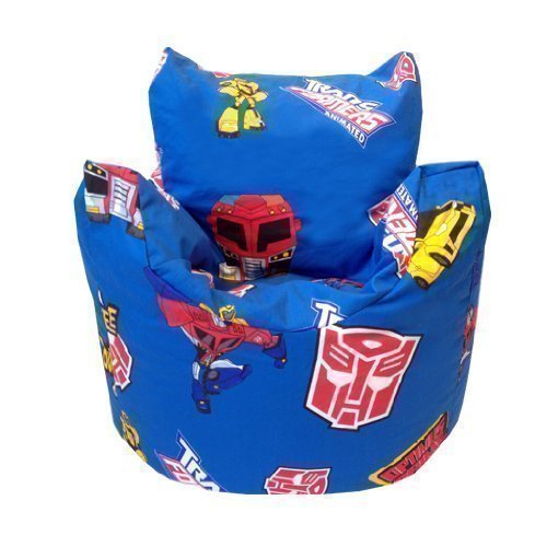 Shopisfy Transformers Shaped Bean Bag Chair Cover Only Blue