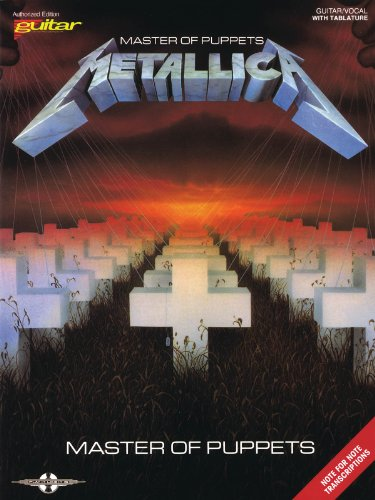 (Metallica - Master of Puppets - Guitar Personality )