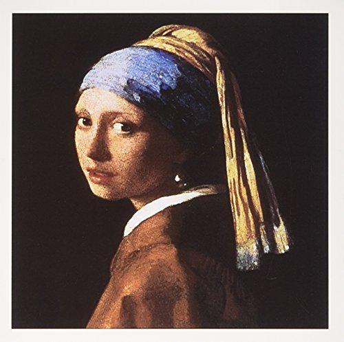 3dRose Girl Pearl Earring Vermeer