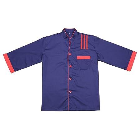 aihometm estilo coreano Chef chaqueta Camisa Camarera Camarero ...