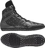 adidas Impact Men's Wrestling Shoes, Black Fractal Print, Size 5