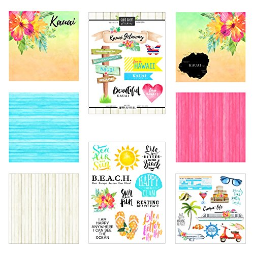 (Scrapbook Customs Kauai Getaway Scrapbook Kit)