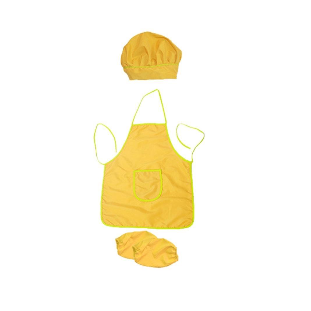 TAOtTAO - Juego de 3 Delantales de Cocina Impermeables para niños, 0.21, Color Azul: Amazon.es: Deportes y aire libre