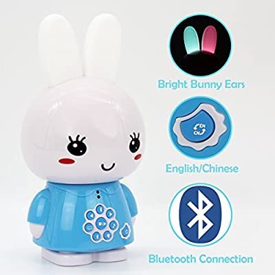 alilo Honey Bunny 8GB Children MP3 Player Early Learning Toys Bilingual