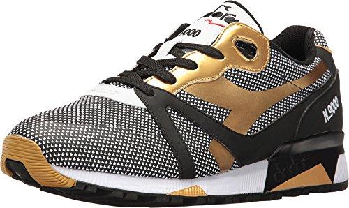 Diadora Unisex N9000 Arrowhead Black Athletic Shoe