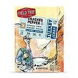Field Trip Turkey Jerky, Cracked Pepper, 12 Ounce