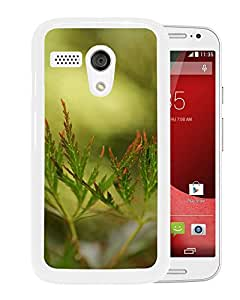 New Beautiful Custom Designed Cover Case For Motorola Moto G With Leaves Close Up (2) Phone Case