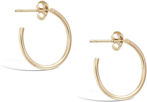Ladies Gold 45mm Hoop Fashion Jewellery Accessory Gift Earrings