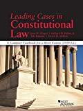 Leading Cases in Constitutional Law, a Compact Casebook for a Short Course 2014, Jesse Choper and Richard H. Fallon, 1628100885
