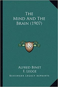 Book The Mind and the Brain (1907)