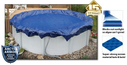 Gold Arctic Armor Winter Cover for 16ft x 25ft Oval Above Ground Pools (15x25 Pool Oval)
