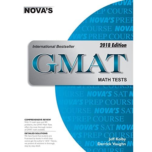 LD Novas Gmat Math Tests 2018 Edition