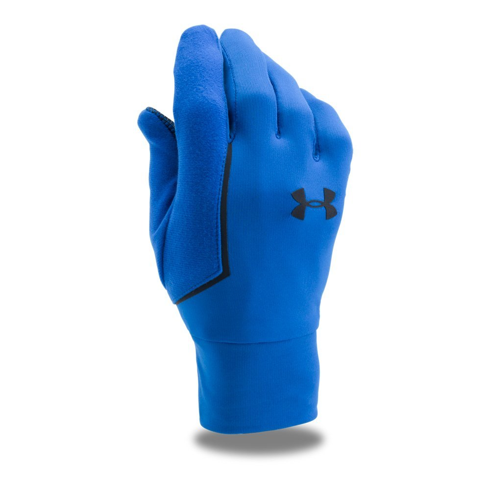 Under Armour Men's No Breaks Armour Liner Golves, Lapis Blue (984)/Black, Small/Medium by Under Armour (Image #1)