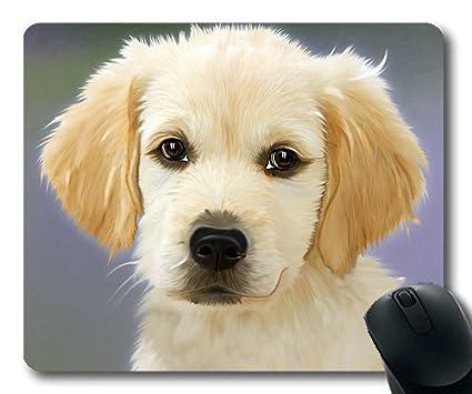 Amazon Com Golden Retriever Puppy Dog Painting Dog Golden