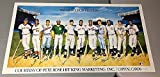 500 Home Run Ron Lewis Poster With11 Mickey Mantle Ted Williams Willie Mays PSA/DNA Authentic