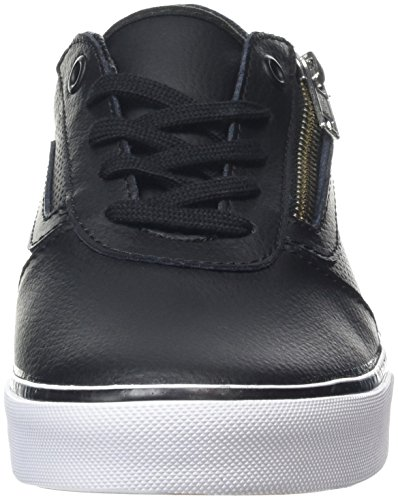 Vans Damen Milton Zip Sneaker Schwarz (Perf Leather Black)