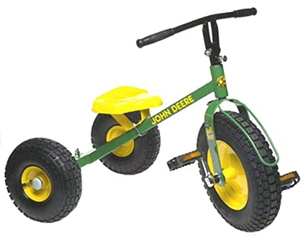 John Deere Mighty Trike >> Amazon Com John Deere Mighty Trike Toys Games