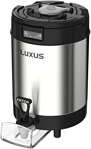 Fetco D451 L4S-10 Luxus 1 Gallon Thermal Coffee Dispenser w o Stand
