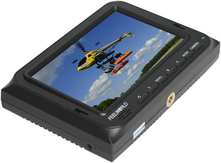 FEELWORLD 5 HD LCD FPV Video Camera Monitor FPV-500AH With HDMI//AV Input for DSLR SLR Aerial Photography