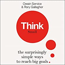 Think Small Audiobook by Owain Service, Rory Gallagher Narrated by Joe Jameson