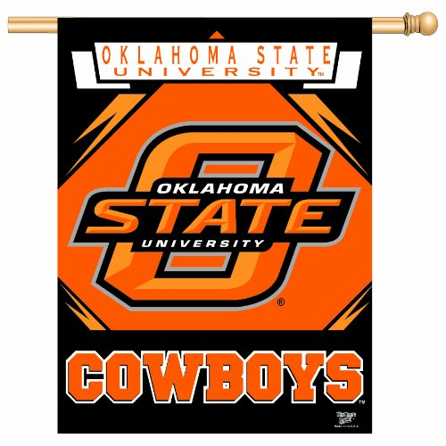 NCAA Oklahoma State Cowboys 27-by-37 inch Vertical Flag