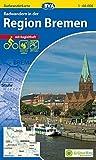 Radwanderkarte BVA Radwandern in der Region Bremen 1:60.000, reiß- und wetterfest, GPS-Tracks Download (Radwanderkarte 1:60.000)