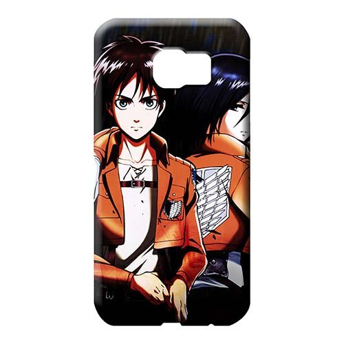 Brand Shingeki no kyojin Cell Phone Covers Eco-friendly Packaging Hot Style Samsung Galaxy S6 Edge - Levis Phone Mobile