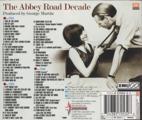 1963-1973 Abbey Road Decade by EMI Import