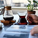 Chemex, Handblown Pour-over Glass Coffeemaker, 8-Cup