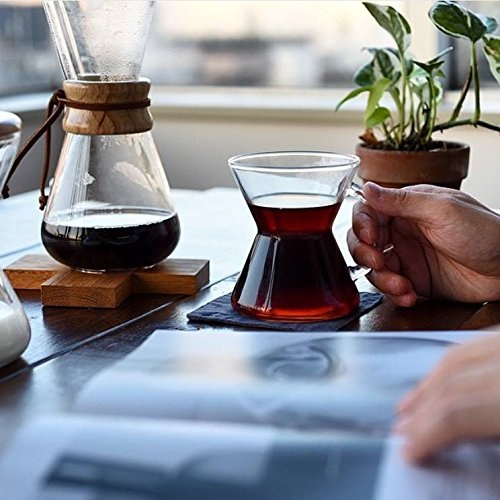 Chemex Pour-Over Glass Coffeemaker – Classic Series – 3-Cup – Exclusive Packaging