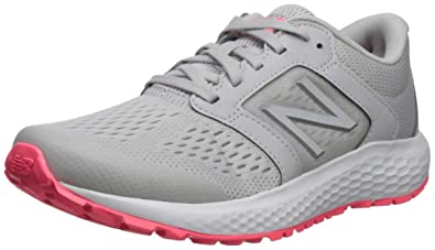66b10e372e58a New Balance Women's 520v5 Cushioning Running Shoe Summer Fog/Guava/Team  Away Grey 9.5