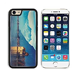 Switzerland Lake Geneva City Mountains Snow Apple iPhone 6 TPU Snap Cover Premium Aluminium Design Back Plate Case Customized Made to Order Support Ready Liil iPhone_6 Professional Case Touch Accessories Graphic Covers Designed Model Sleeve HD Template Wa