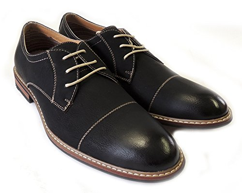 LEATHER COMFORT WING MENS OXFORDS ALDO NEWFERRO TIP MFA19275 LINED SHOES BLACK DRESS LACE UP 6w0TRq
