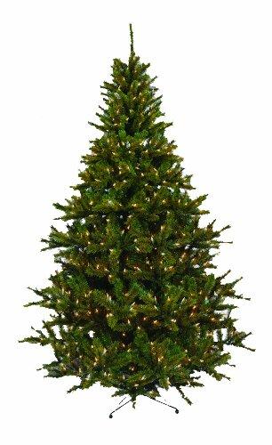 Barcana 7.5-Foot Dakota Pine Christmas Tree with 900 Clear Mini