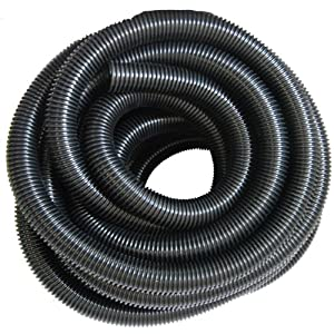 Inch 32mm black corrugated flexible hose fish pond for Garden pond hose