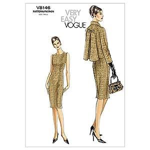 Vogue 8146 - Patrón de costura para confeccionar traje de