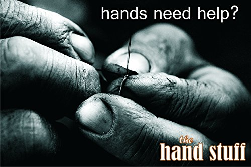 The Hand Stuff HS2 All Natural Balm for Dry, Cracked, Chapped, Working Hands, 2oz