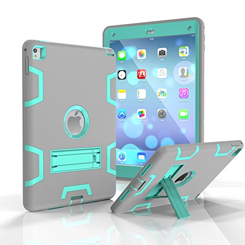 "Beimu For iPad Pro 9.7"" Case, iPad Air 2/iPad 6 Case,3in1 Fu"