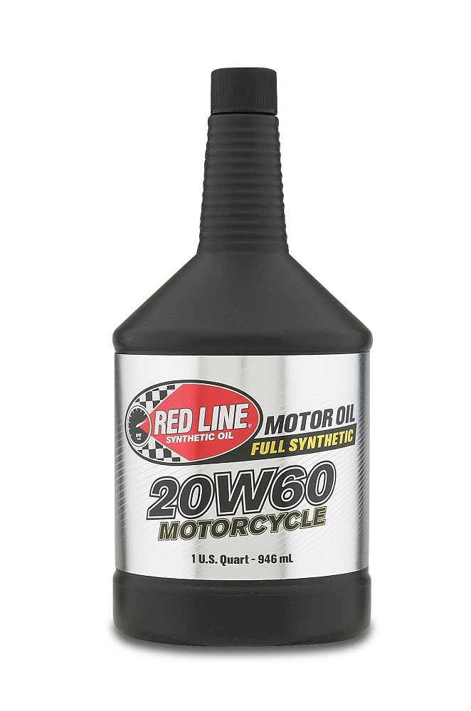 Red Line 12604 20W-60 Heavy Duty Synthetic Oil - 1 Quart Bottle, (Pack of 12) by Red Line Oil