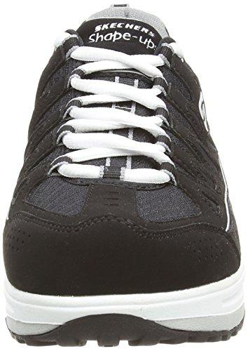 Negro Zapatillas Skechers 0 Stride Silver exterior deporte de Comfort Mujer 2 Black IwzSwqf7