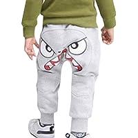 Xmansky Pantalones de chándal para bebé, diseño de Dibujos Animados, Pantalones de chándal para niños pequeños, recién…