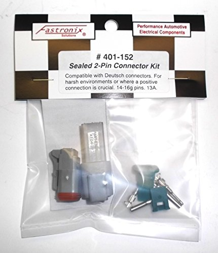 Sealed Deutsch Style Connectors 2-Pin Kit (Racing Sealed)