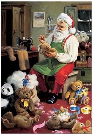 Christmas with Teddy Bears Educa 1,500 Pieces Jigsaw Puzzle