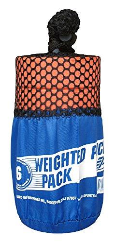 A&R Sports Training Hockey Pucks (6 Pack), Orange